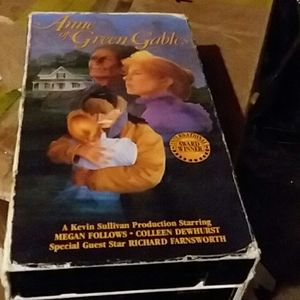 VCR Tapes Anne of Green Gable movie.